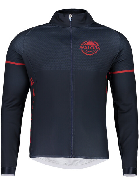 Maloja PushbikersM. 1/1 Long Sleeve Bike Jersey Men mountain lake